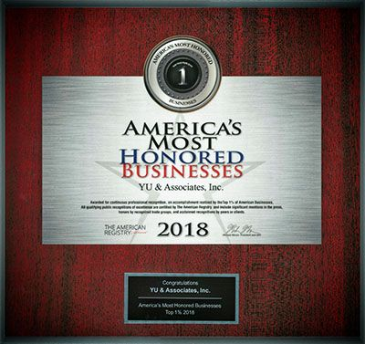 2018 Americas Most Honored Businesses